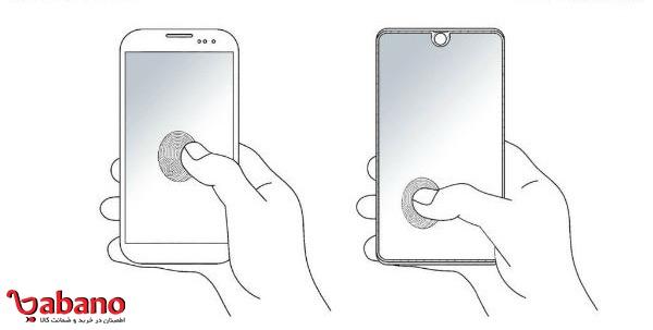 سنسور اثر انگشت در کل صفحه نمایشگر