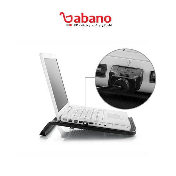 کول پد deep cool مدل N200 مخصوص لپ تاپ