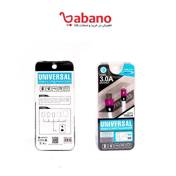 کابل شارژر موبایل و تبلت اپل مدل اسکار C-608