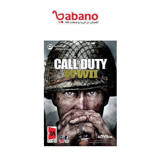 بازی کامپیوتری Call of Duty WWII مخصوص PC | Call of Duty WWII PC Game