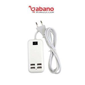 هاب و شارژر رومیزی 4 پورت USB