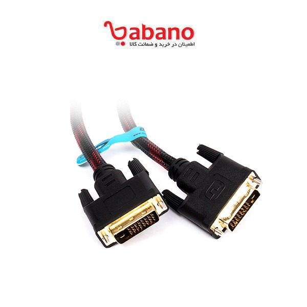 کابل DVI_D Dual Link اسکار مدل dv105 به طول 1.5 متر