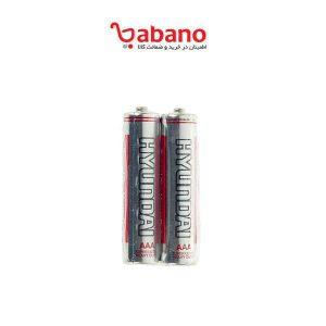 باتری نیم قلمی هیوندای 2 عددی مدل Super Ultra Heavy Duty - UHD Engine