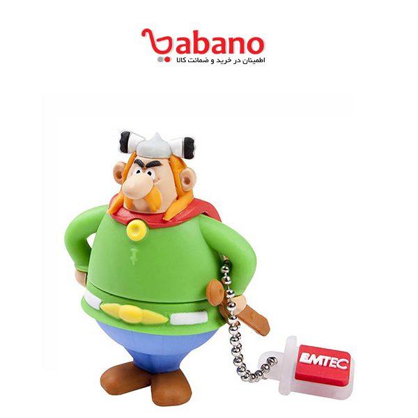 فلش مموری EMTEC مدل Asterix ظرفیت 8 گیگابایت