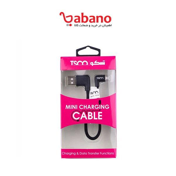 کابل تبدیل USB به MicroUSB تسکو مدل TC 59N Mini طول 0.2 متر