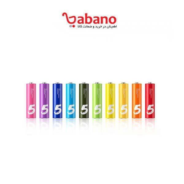 باتری قلمی آلکالاین شیاومی مدل ZI5 بسته 10 عددی |