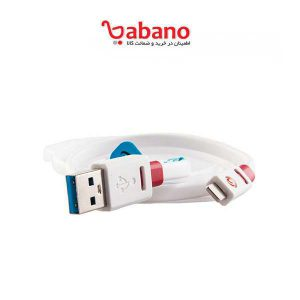 کابل شارژر 1 متری Griffin Premium Flat USB Cable