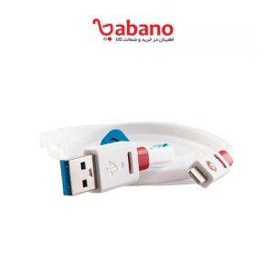 کابل شارژر 1 متری Griffin Premium Flat USB Cable
