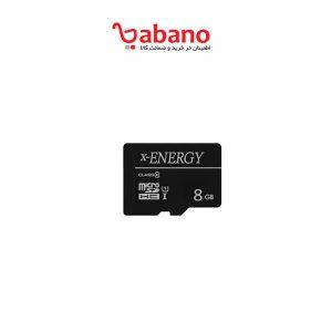 کارت حافظه micro sdhc X-energy انرژی 8 گیگ