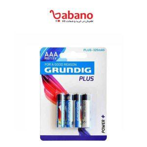 باتری نیم قلمی GRUNDIG مدل Plus با ظرفیت 325 میلی آمپر ساعت