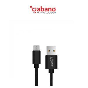 کابل شارژ ARUN تبدیل USB به microUSB مدل E12MC طول 1.2 متر