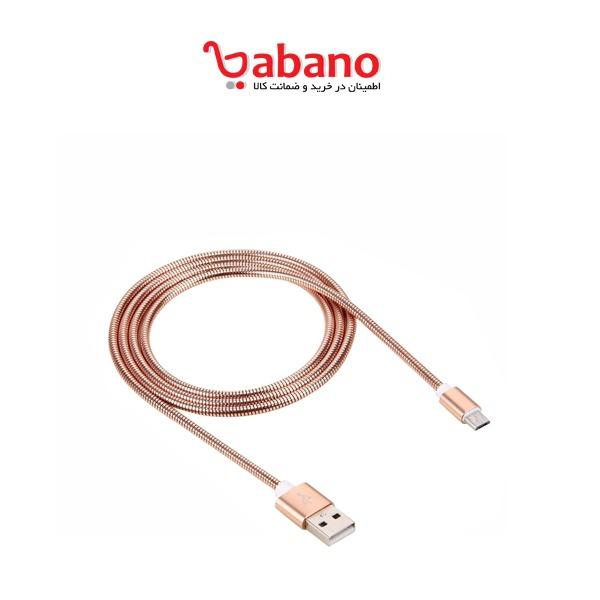 کابل شارژ و انتقال دیتا اندروید usb به microusb