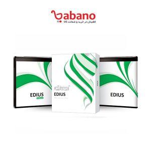 آموزش نرم افزار EDIUS به همراه نرم افزار نشر پرند