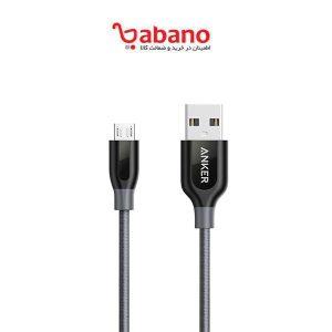 کابل شارژ anker مدل poweline + micro USB A8142H21