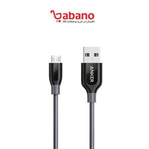 کابل شارژ anker poweline plus micro USB مدل A8143