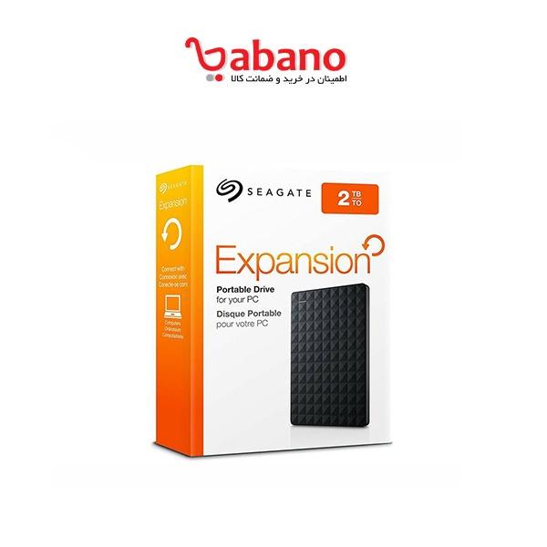 هارد اکسترنال سیگیت مدل Expansion Portable ظرفیت 2 ترابایت