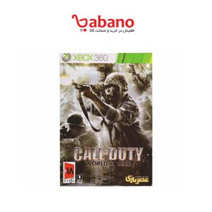 بازی Call of Duty World at War مخصوص XBOX 360