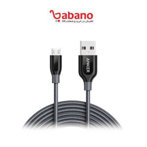 کابل شارژ lighting Anker مدل A8122 PowerLine Plus