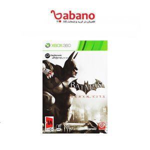 بازی batman arkham city نشر پرنیان مخصوص xbox 360