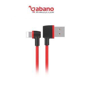 کابل تبدیل USB به لایتنینگ یونیتک مدل C4047RD طول 1 متر