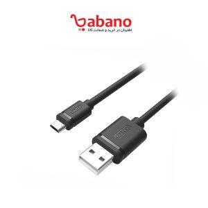 کابل تبدیل USB به microUSB یونیتک مدل Y-C454GBK طول 0.5 متر