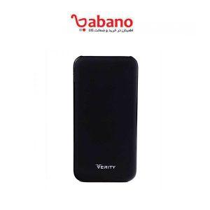 پاور بانک verity مدل V-PU90B با ظرفیت 10000 میلی آمپر ساعت