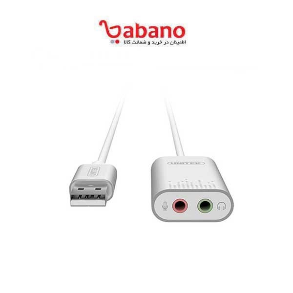 بدل USB به Stereo Audio یونیتک مدل Y-247A