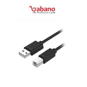 کابل USB پرینتر یونیتک مدل Y-C420GBK طول 3 متر