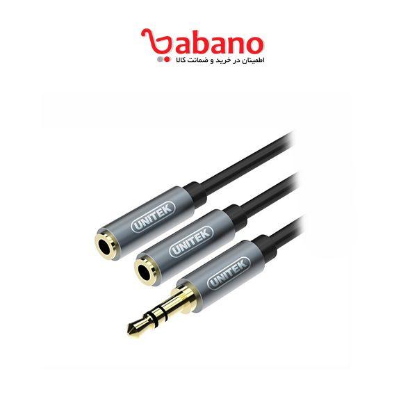 کابل افزایش طول 3.5 میلی متری یونیتک مدل Y-C956ABK طول 0.2 متر