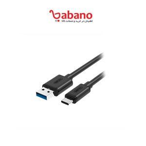 کابل تبدیل TYPE-C به USB3.0 یونیتک مدل Y-C474BK طول 1 متر