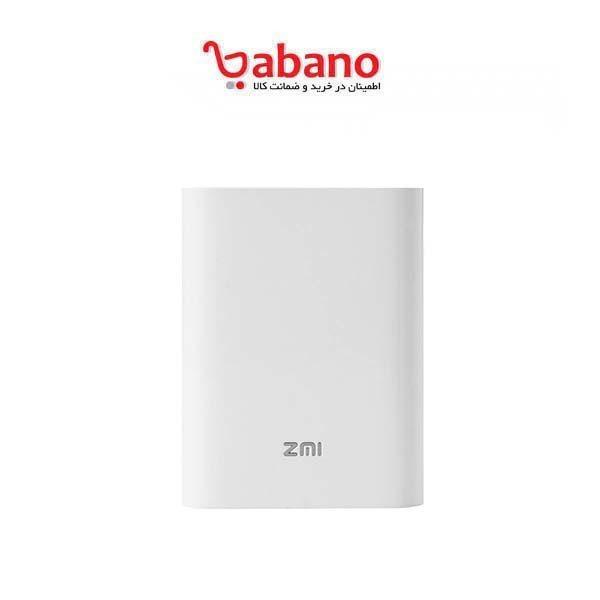 پاور بانک و مودم xiaomi مدل ZMI MF855 ظرفیت 7800 میلی آمپر ساعت