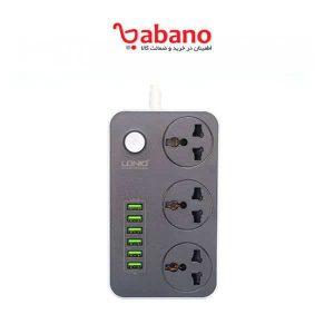 شارژر USB و چندراهی برق Ldino مدل SC3604