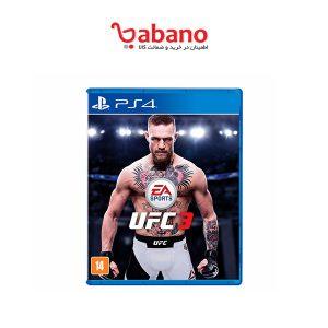 بازی UFC 3مخصوص PS4