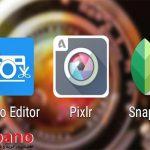 نرم افزار های ویرایش عکس گوشی های اندروید