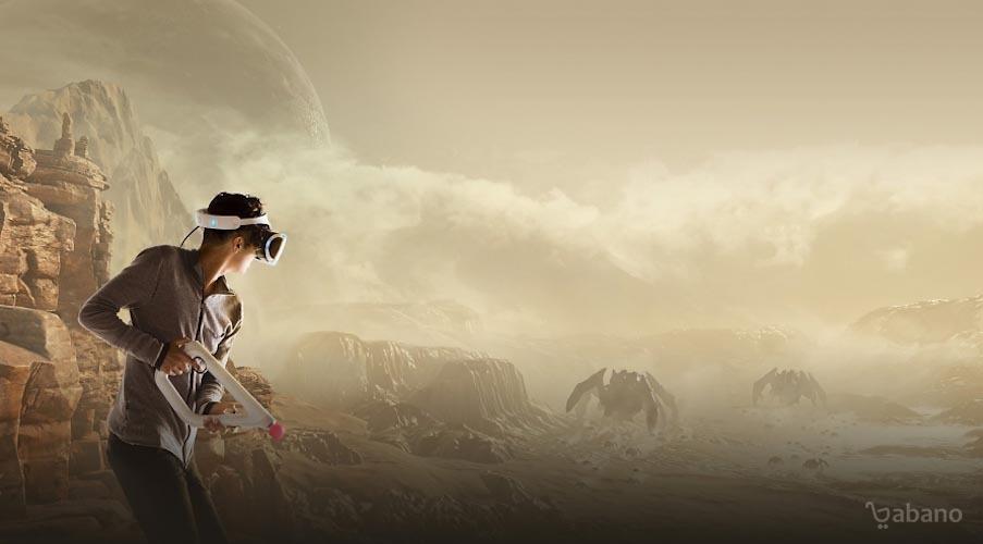 تفنگ واقعیت مجازی SONY مدل PlayStation VR Aim Controller