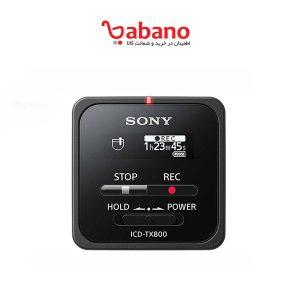 ضبط کننده صدا SONY مدل ICD-TX800