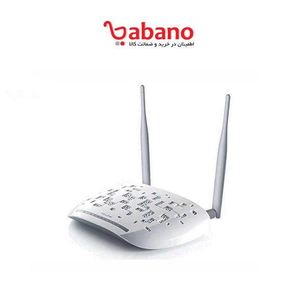 مودم ADSL2 Plus بیسیم N300 TP LINK مدل TD-W8961N