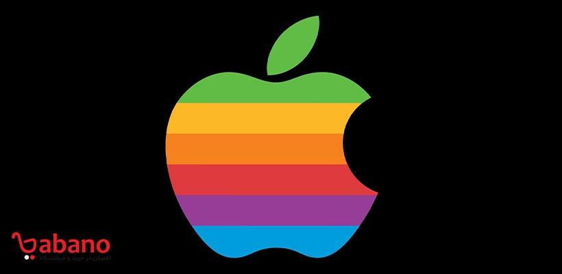 لگوی رنگین کمانی اپل