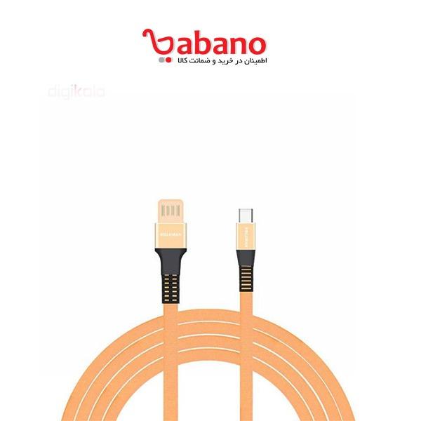 کابل شارژ USB به KOLUMAN Type-c مدل KD-13 طول 1 متر