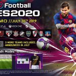 تاریخ رسمی انتشار بازی PES 2020 مشخص شد