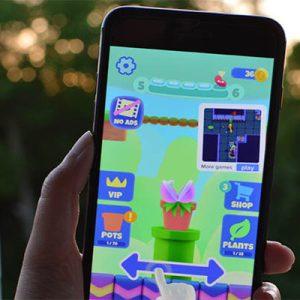 بازی موبایل Nom Plant بازی گیاه آدمخوار؛معرفی و دانلود بازی