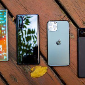 تداوم صدرنشینی سامسونگ در فروش گوشیهای هوشمند؛ هواوی و اپل در ردههای دوم و سوم
