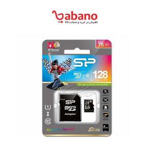 کارت حافظه microSDXC سیلیکون پاور مدل Elite ظرفیت 128 گیگابایت