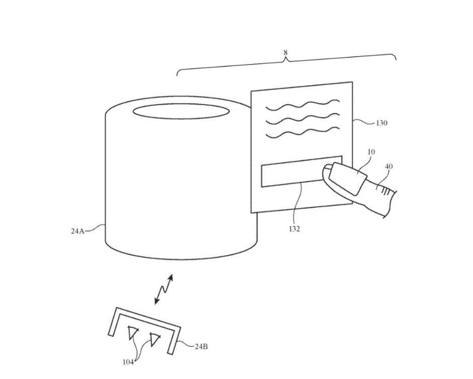 پتنت جدید اپل برای تعامل با اشیا مجازی