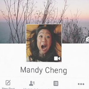 فیلم کوتاه به عنوان تصویر پروفایل در فیسبوک