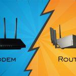تفاوت Modem و Router