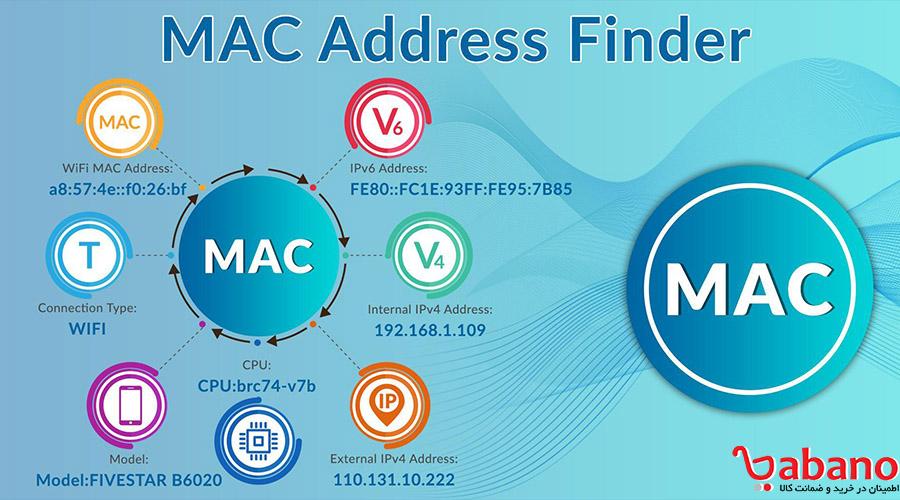 پیدا کردن mac address در سیستم عامل مک: