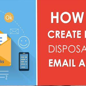 ساخت ایمیل یکبار مصرف
