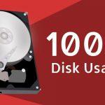 خطای Disk Usage 100%