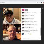 لایو در نسخه وب Instagram